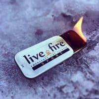 Live Fire Emergency Fire Starter - Sport Size